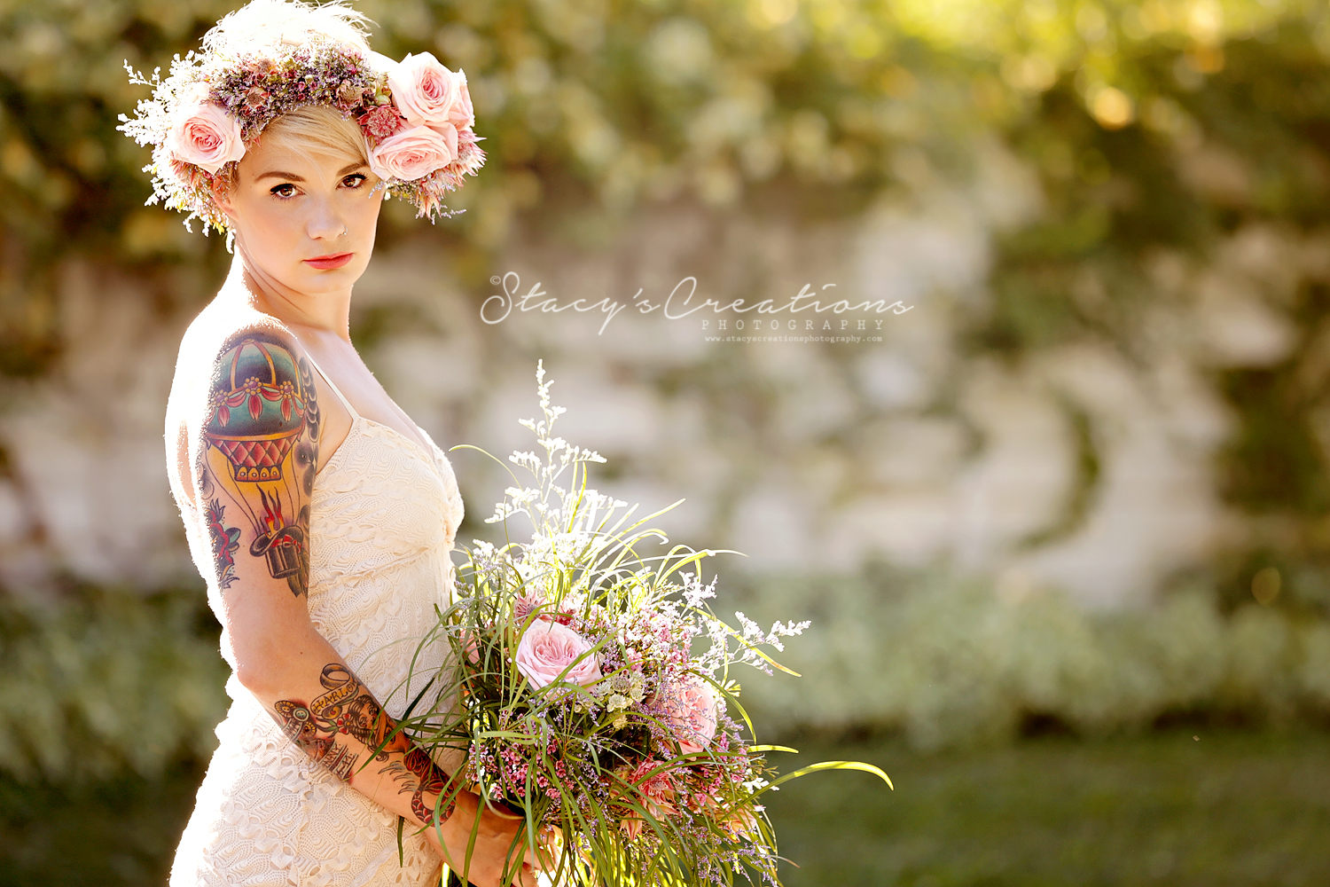 {Rio & Brian} : Boho Chic : Vineyard Bride Aug 2014