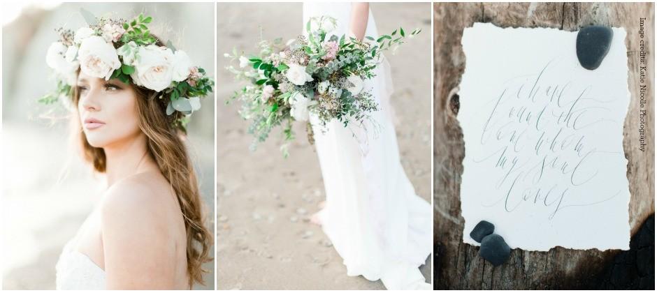 Beach Wedding Inspiration_Ooh La La Designs_Niagara Wedding Florist_Toronto Wedding Florist_Katie Nicolle Photography_Style Me Pretty