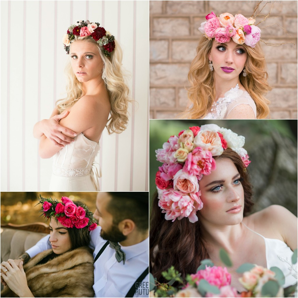The real cost of wedding flowers ooh la la designs full halos with spray roses dahlias ranunculus succulents and greens incredibly labour intensive honest cost 200 300 izmirmasajfo