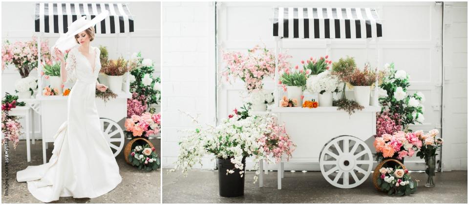 Floral Cart Slider