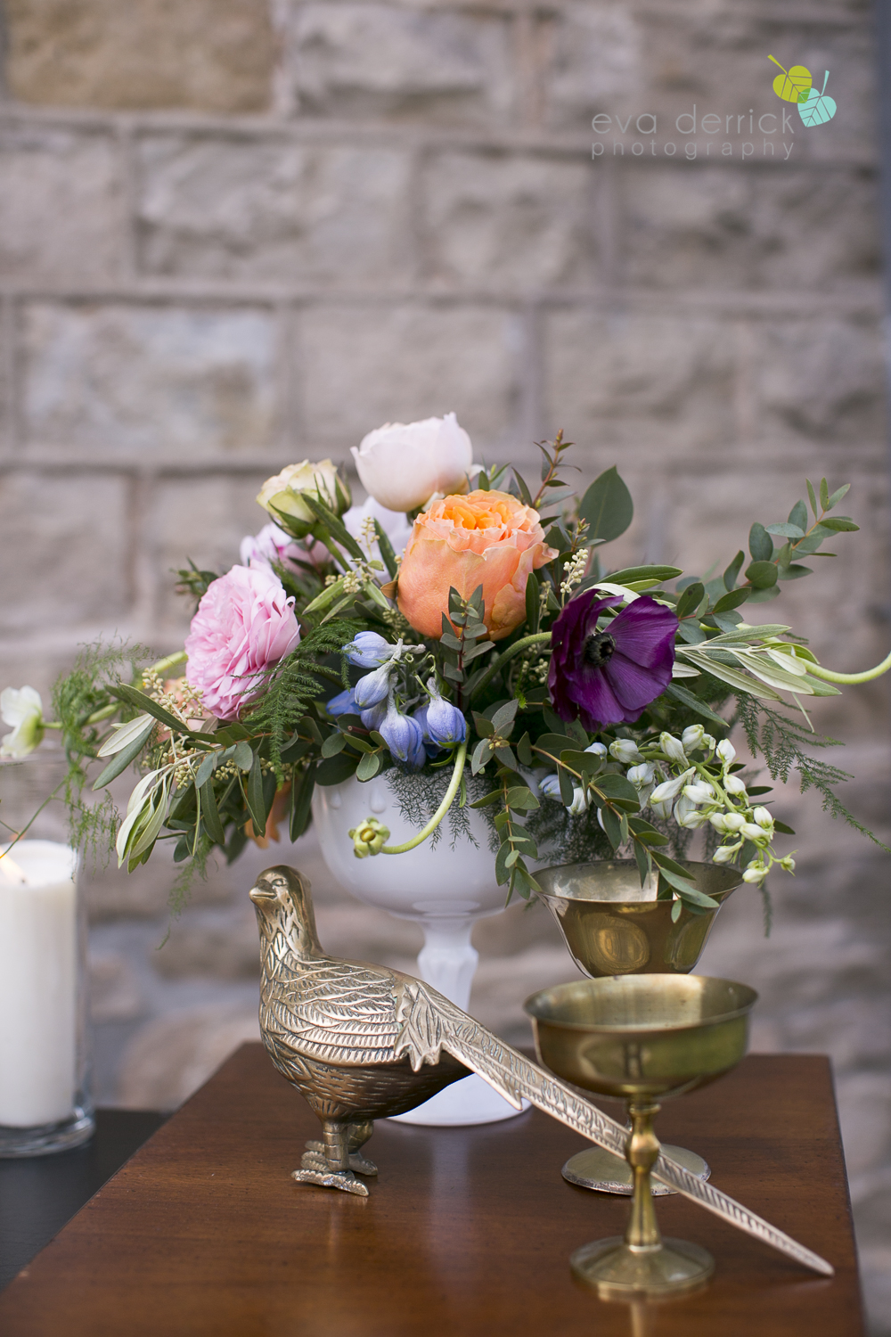 Niagara wedding florist_Toronto Wedding florist_Niagara weddings_ Toronto weddings_Eva Derrick Photography_floral crown_Ooh La La Designs_17