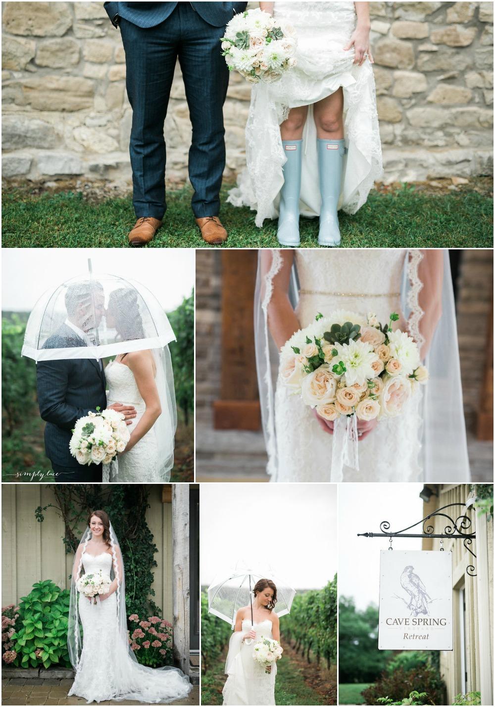 Niagara Wedding_Niagara Wedding Flowers_Cave Spring Wedding_Inn on the Twenty wedding_Ooh La La Designs_Simply Lace Photography_image 2